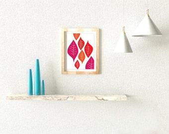 "Modern Print Wall Decor / Poster (8x10"" or A3)"