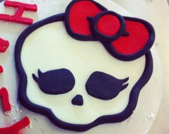 monster high cake topper