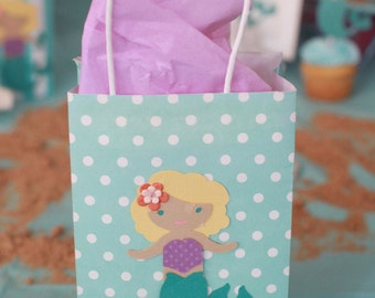 Mermaid treat topper | Etsy