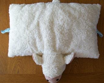 Cushion plush sheep