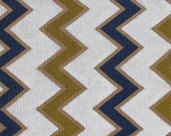 Wide Chevron Sisal Rug, sisal rug, hand painted rug, Hand Painted Sisal, Chevron, Painted Rug
