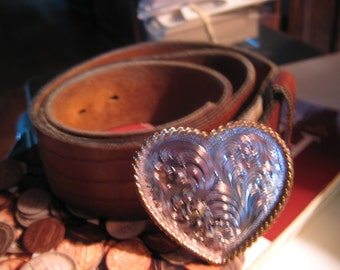 STERLING SILVER HEART Belt -Give Her Your Heart