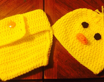 Chicken Diaper Cover Set