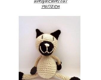 Crochet amigurumi, Amigurumi Pattern, Crochet pattern, Amigurumi Cat pattern, Crochet Cat  pattern, Doll pattern, Cute animal