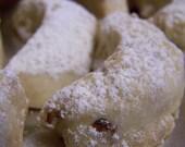 Almond Crescent Cookies - 1dz