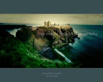 A fine art print of the majestic Dunnottar Castle.