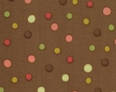 Spirit Bubbly Quilting Fabric in Cocoa by Lila Tueller
