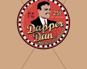 """Dapper Dan Minimalist Poster 11""""x17"""""""