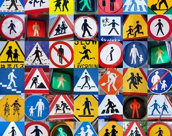 FIGURE SIGNS Fine Art Travel Photography Print 11 x 14 Inches