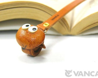 Snake Leather 3D Animal Bookmark/Bookmarks/Bookmarker *VANCA* Made in Japan #26114 Free Shipping
