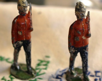 Vintage Royal Guards Diecast Figurines