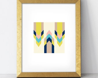 Arrows Print - 8x10 wall art