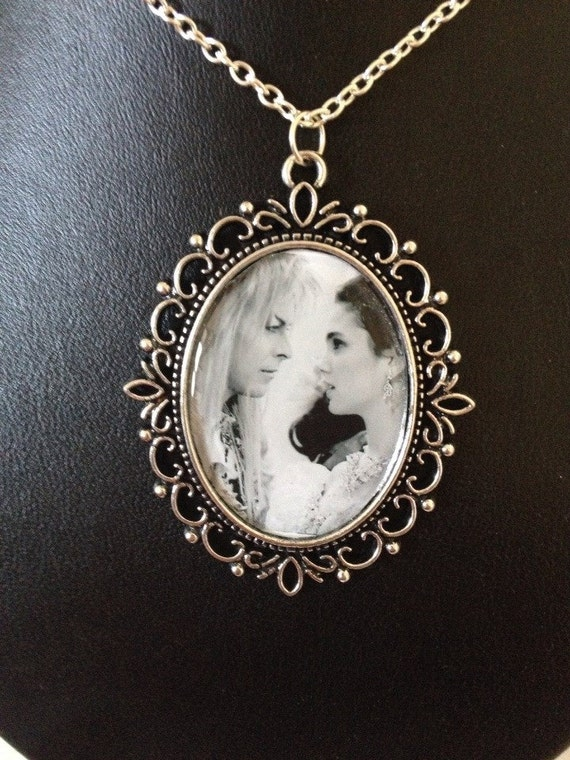 labyrinth jareth cameo necklace by landawestdesign