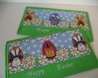 Easter Mug Rug – Snack Mat- Candle Mat