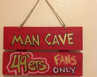 49ers Man Cave Sign