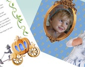 Customized letters and pictures from princess Cinderella in your email- you can choose the text- perfect original birthday present for girls