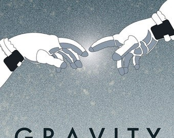 Gravity Movie Poster 12x18 inches (30x45 cm)