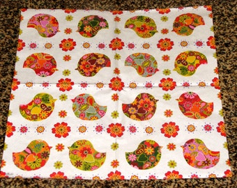 "6 Decoupage Paper Napkins Serviette Easter poult chicken 33x33 cm. 13""x13"" set of 6 pcs"