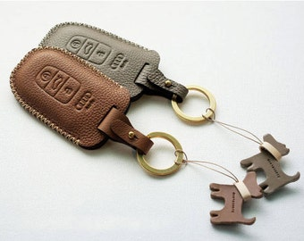 Handmade Remote Key chain case cover holder fob for