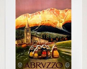 Italy Travel Poster Italian Art Home Decor Print (TR88)