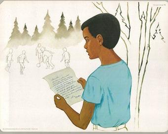 1974 Educational Illustrations - Randsom Note