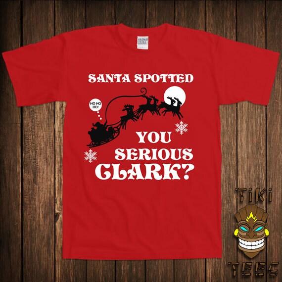Christmas Vacation Santa Quote: Funny Christmas Vacation T-shirt Quote Tshirt Tee Shirt