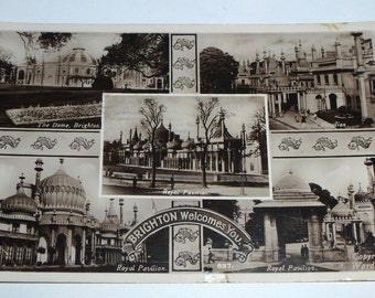 Photographic postcard - Brighton Welcomes You
