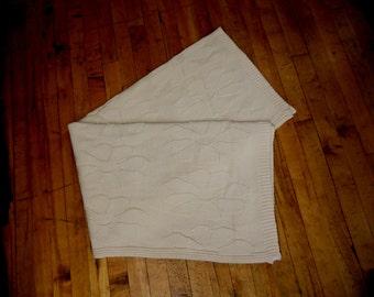 Daisy 100% Natural Cotton Throw Blanket