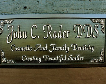 Gift for Boss Custom Carved Sign Personalized Carved Sign Carved Wooden Sign Custom Wood Sign Custom Business Sign