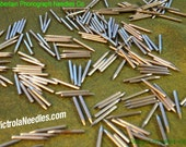 300 polished metal Gramophone NEEDLES for Vintage Victrola Phonograph 78rpm Records ETSY