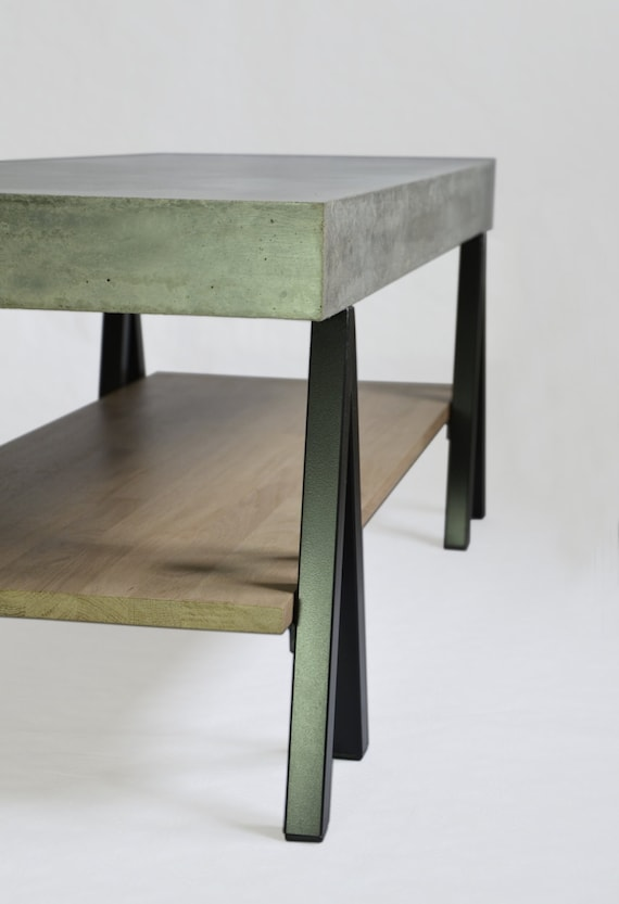 Table basse beton fly occasion - Meuble tv beton cire ...