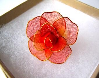 Red Rose Ring -b