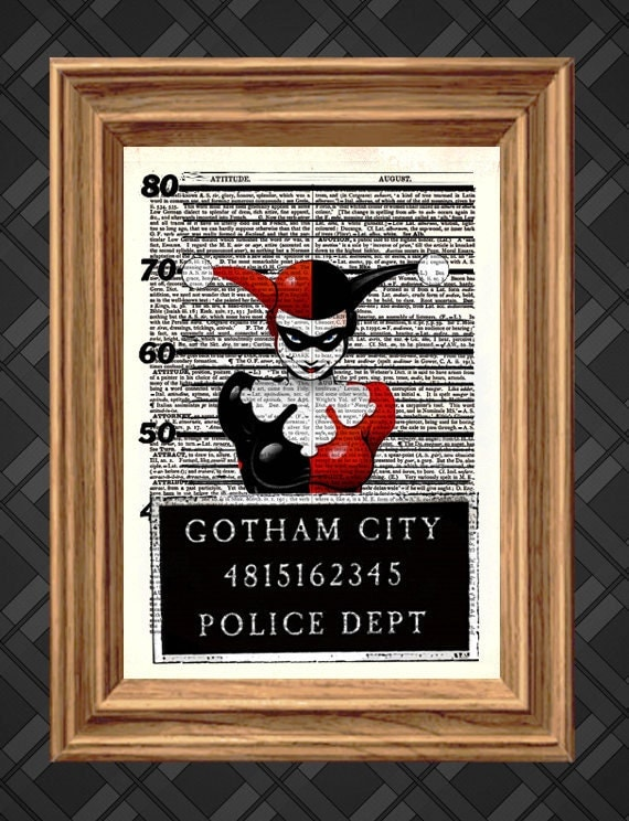 Unavailable listing on etsy for Harley quinn bedroom designs