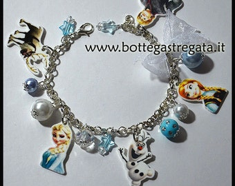 Frozen bracelet and Cartoons Ice Bracelet