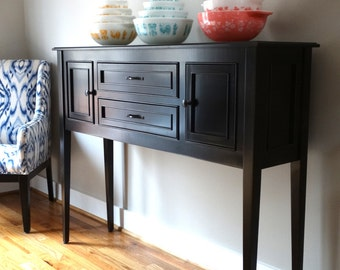 Elegant Maple Huntboard, Sideboard, Buffet