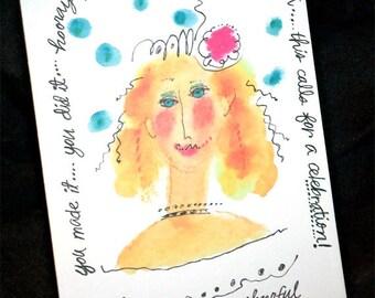 Glamorous Birthday...Card