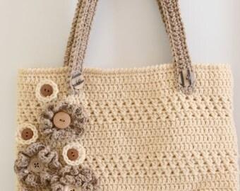 PDF Flora Bag Crochet download pattern