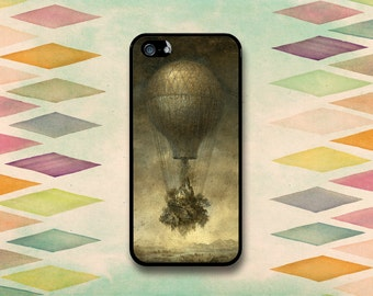 Vintage Hot Air Balloon Case: iPhone 4 // 4s, 5c or 5 // 5s