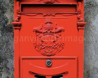 Antique Mail Box in Lake Como, Italy - Fine Art Photography by Megan Victoria