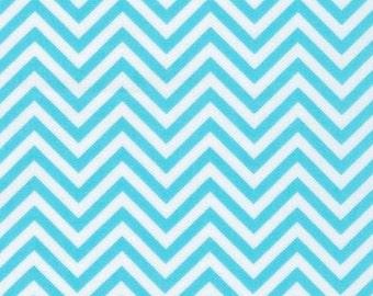 Robert Kaufman Remix Water Zig Zag Chevron 100% Cotton by Ann Kelle