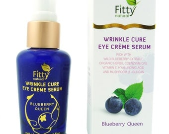 Blueberry Queen Wrinkle Care Anti Aging Eye cream serum