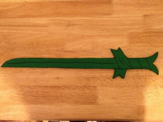 Grass Blade Slap Bracelet - Sword (24 inches)