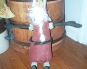 Primitive Santa Christmas