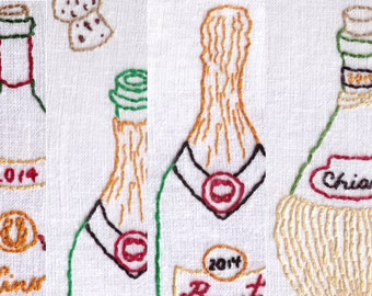 Wine Lovers Super Combo Pack  Hand Embroidery Pattern