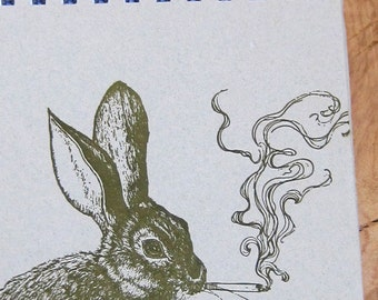 Smoking Rabbit Notebook