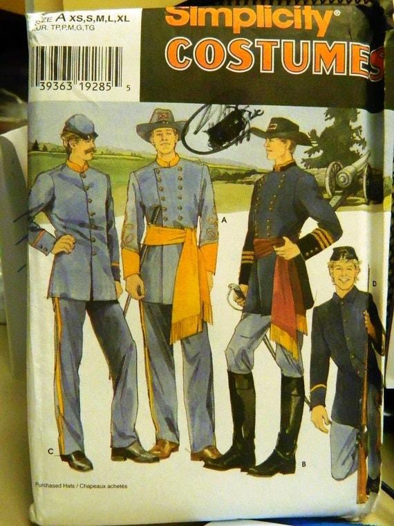 Confederate Uniform Patterns 107
