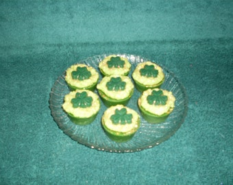 Grubby Wax Cupcake Tarts/Bowl Fillers Grasshopper Pie