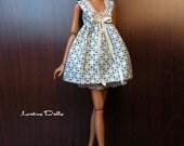 Sweetheart - Handmade dress for Momoko dolls