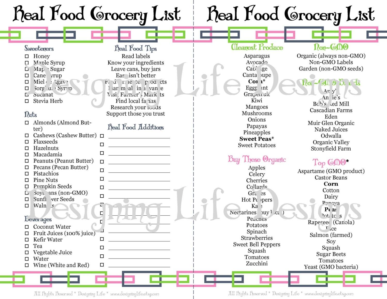 Real food printable kitchen set mini binder pages for Kitchen set real