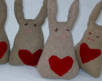 Peter Cottontail, Heart the Cashmere Bunny